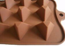 pyraminde para bombones Molde Hielo 100% silicona chocolate seifenform