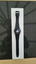 More details for rare pink floyd dark side of the moon watch. like a swatch. with box.