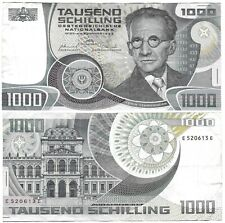 1000 Schilling 1983 Austria