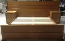 Bed, King Size with Bedside tables made in Tassie Oak