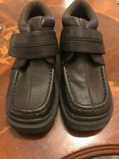 Brown Leather Adams Kids Shoes