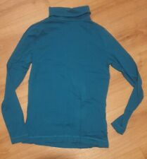 Teal Roll Neck Top Size 12