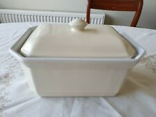 EMILE HENRY CREAM  CASSEROLE OVEN DISH WITH LID 58.91