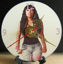 Brand New Nicki Minaj Singer Song Writer CD Music Artist Clock Nice!!