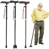Parents Easy Adjustable Nonslip Folding Mobility Aids Cane Light Walking Stick