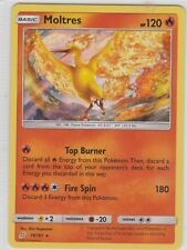 Pokemon TCG SM Team Up 19/181 Moltres Holographic Rare Card