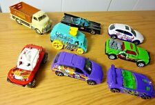 Hot Wheels & Matchbox Lot Of 8  1:64 Metal Specialty Cars & Trucks Collectible
