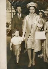 Margaret d'Angleterre, Amstrong Jones et David Vintage silver print Tirag