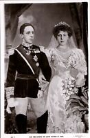 Vintage Postcard King Alfonso & Queen Victoria of Spain,   ct14