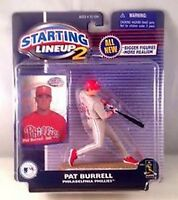 Pat Burrell Philadelphia Phillies MLB Starting Lineup 2 action figure NIB Hasbro