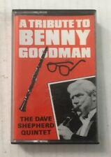 "The Dave Shepherd Quintet ""A Tribute To Benny Goodman"" Tape Cassette *FRMC 702*"