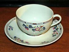 "1 RARE ""Emperors"" PUIFORCAT Raynaud Limoges Tea Cup & Saucer FRANCE MINT!"