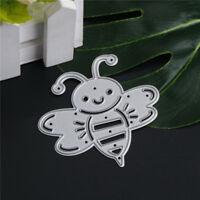 Cute Bee Metal Cutting Dies Stencils For Scrapbooking DIY Album Cards Making HF