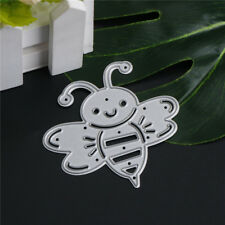 Cute Bee Metal Cutting Dies Stencils For Scrapbooking DIY Album Cards Making FG