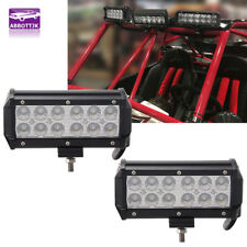 2x 7INCH 36W CREE LED WORK LIGHT BAR OFFROAD ATV FOG TRUCK 4WD FORD 12V FLOOD