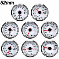 52mm Boost Tachometer Volt Air-Fuel Ratio Water Oil Temp Oil Press EGT Gauge