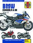 2010-2017 BMW S1000 S1000RR S1000R S1000XR S 1000 RR R XR HAYNES REPAIR MANUAL