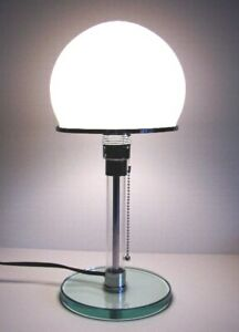 BAUHAUS WILHELM TABLE LAMP by KARL JUCKER MADE IN ITALY