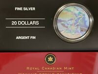 2006 Canada $20 CN Tower Silver Proof  Holographic in Original Package