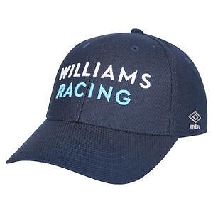 Umbro Williams Racing 2021 Team Sport Baseball Style Outdoor Summer Cap