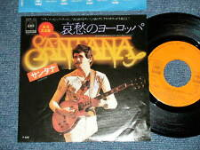 "SANTANA Japan 1976 NM 7""45 EUROPA"