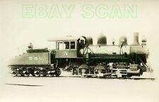 8C596 RP 1920s/40s SYDNEY LOUISBURG RAILROAD 0-6-0 ENGINE #12