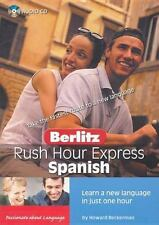 Rush Hour Express: Berlitz Earworms - Spanish (2004, Cd)