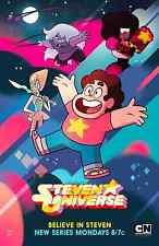 STEVEN UNIVERSE 24X36 POSTER ANIMATION TV SERIES KIDS CHILDREN FUN WALL DECOR!!!