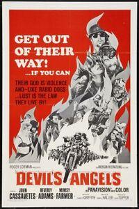 Devil's Angels movie film DVD transfer motorcycle biker gang delinquents