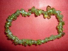 cristalloterapia BRACCIALE braccialetto PERIDOTO cristallo pietra new age wicca