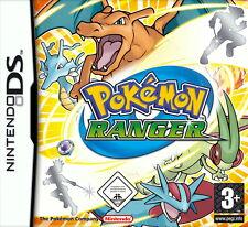 Pokémon Ranger Nintendo Ds 3Ds 2Ds Neuwertig mit Ovp Deutsch