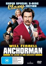 Anchorman - The Legend Of Ron Burgundy (DVD, 2004, 2-Disc Set)