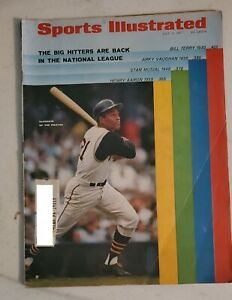 July 3 1967 Roberto Clemente Pirates Sports Illustrated First Cover SI