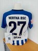 Hertha BSC Berlin Trikot Selke signiert Bundesliga Fußball Autogramm Nike Neu M