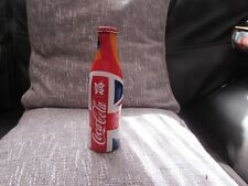 COLLECTABLE SOUVENIR LONDON 2012 OLYMPICS THEMED COCA COLA BOTTLE WITH LID