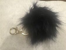Clip And Key Chain (Navy) Origami Owl (new) Pom Pom Bag