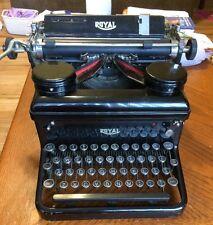1936 Royal KHM Typewriter Vintage Working condition