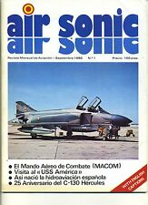 R- MAGAZINE AIR SONIC 1980/1984 1/17 IN SPAGNOLO AEREI ----- 1980 - B - ZDS697