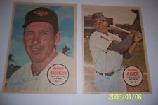 1967 Topps Poster BALTIMORE Orioles BROOKS ROBINSON #3 Please See Others FREE SH