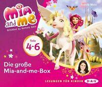 ISABELLA MOHN - DIE GROßE MIA-AND-ME BOX (TEILE 4-6)  3 CD NEW