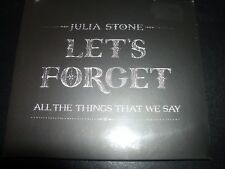 Julia Stone Let's Forget All The Things That We Say CD EP – Like New