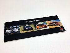 2006 Mitsubishi Lancer Evo Galant Eclipse Raider Outlander Endeavour Brochure
