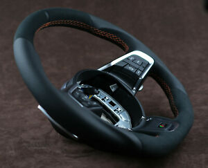 OEM Jaguar custom steering wheel XE XF E F-Pace X540 R S thick flat top bottom