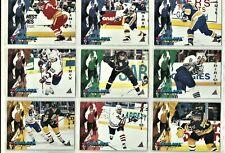 1994-95 Pinnacle Bommers 18 card set.