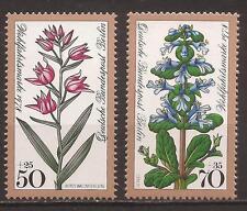 Berlin 1978 Woodland Flowers 50 Pf - 70 Pf MNH/**, Michel 575-576