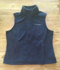Columbia Men's Blue Fleece Full Zip Vest XL (Chest 46)