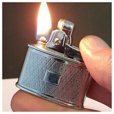 Briquet essence * MOSDA 500 made in England * Petrol Lighter-Feuerzeug-Accendino