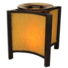 Asian Lantern Squared Electric Scented Oil Burner/Warmer Night Light Lamp OA250
