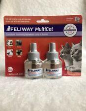 Feliway MultiCat Diffuser Refill - 2 Count