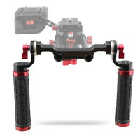 CAMVATE Handle Grip 15mm Rod Clamp Shoulder Rig with ARRI Rosette Mount for DSLR